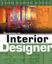 "Cover of the book ""Becoming an Interior Designer"" -  featuring Architect Mclean"