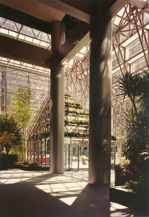 Photo: Chemical Bank Headquarters, ChemCourt, Interior Garden