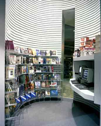 Photo: Electronics Boutique Computer Room, one of three