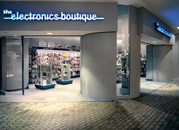 Photo: Electronics Boutique Entrance from Mall